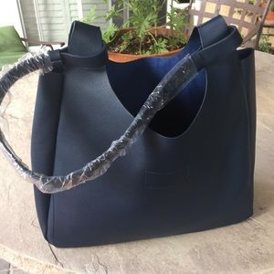 Neiman Marcus Handbag Blue NEW
